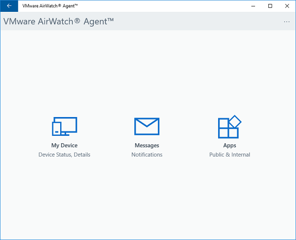 How do I install AirWatch MDM on my Windows 10 Device?