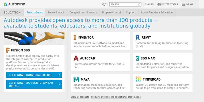 Autodesk screenshot