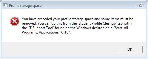 Profile Storage space