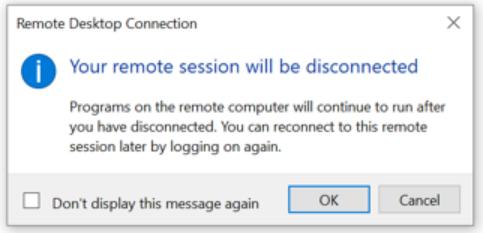 Remote Desktop Connect screenshot