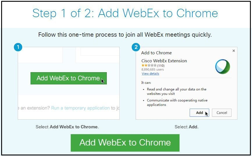 How do I join a Webex session?